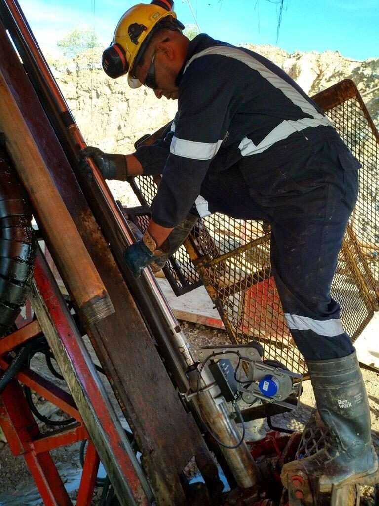 Downhole Gyro Survey Worker using gyro surveying equipment